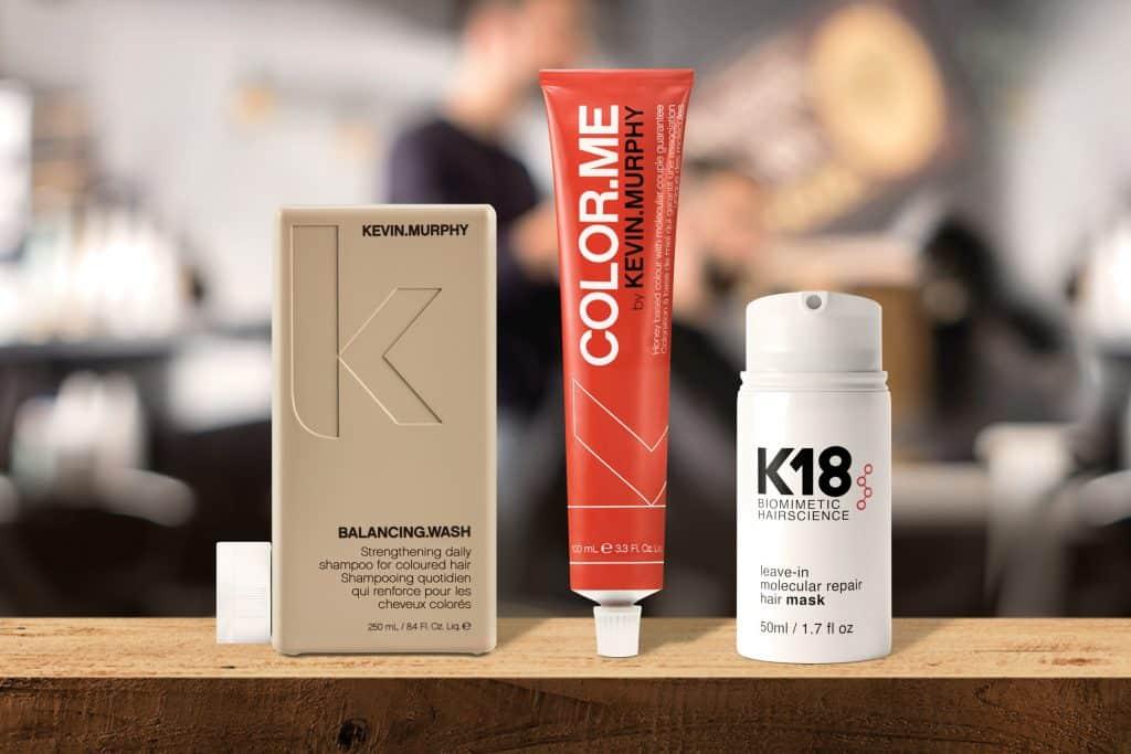 Belludio Produktimage 3er-Kombi Kevin Murphy, Color Me und K18